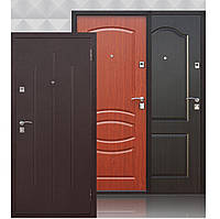 Дверь входная металлическая СтройГОСТ 65 мм, медный антик