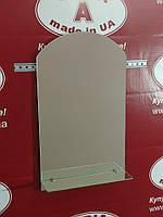 Зеркало в ванную с полочкой №8 /Дюбель в Подарок