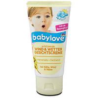 Babylove Wind&Wetter Gesichtscreme Детский крем для лица защита от ветра и непогоды 75 мл