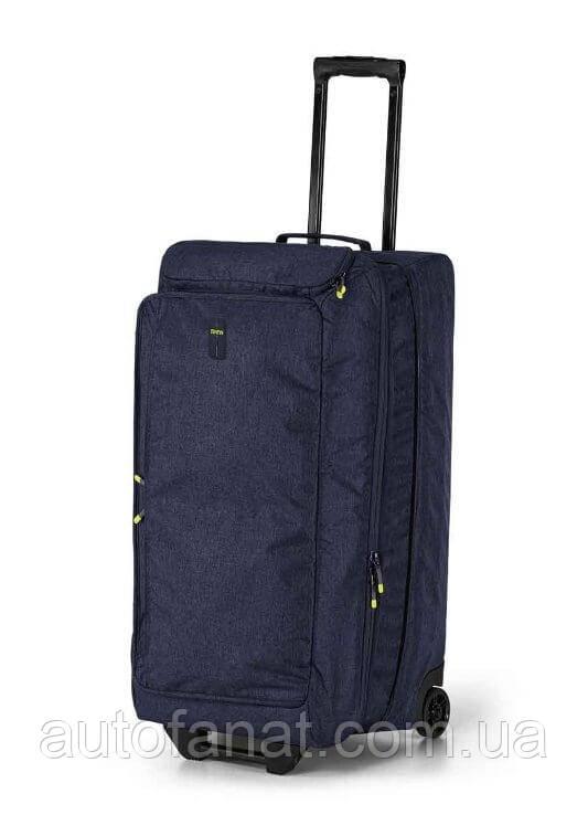 Оригінальна туристична сумка на коліщатках BMW Active Travel Bag Trolley, Blue / Lime (80222461028)