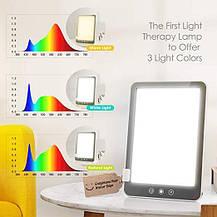 Лампа для светотерапии с 10,000 Lux LED с ярким белым светом и сенсорным управлением, фото 2