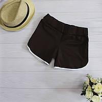 Женские короткие шорты в спортивном стиле