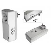 Розетка TESLA SECURITY GSM-POWER для д/у питанием 220В и контроля температуры на объекте