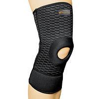 Бандаж спортивный для колена Spokey Hock (original), наколенник, фиксатор для коленного сустава открытый