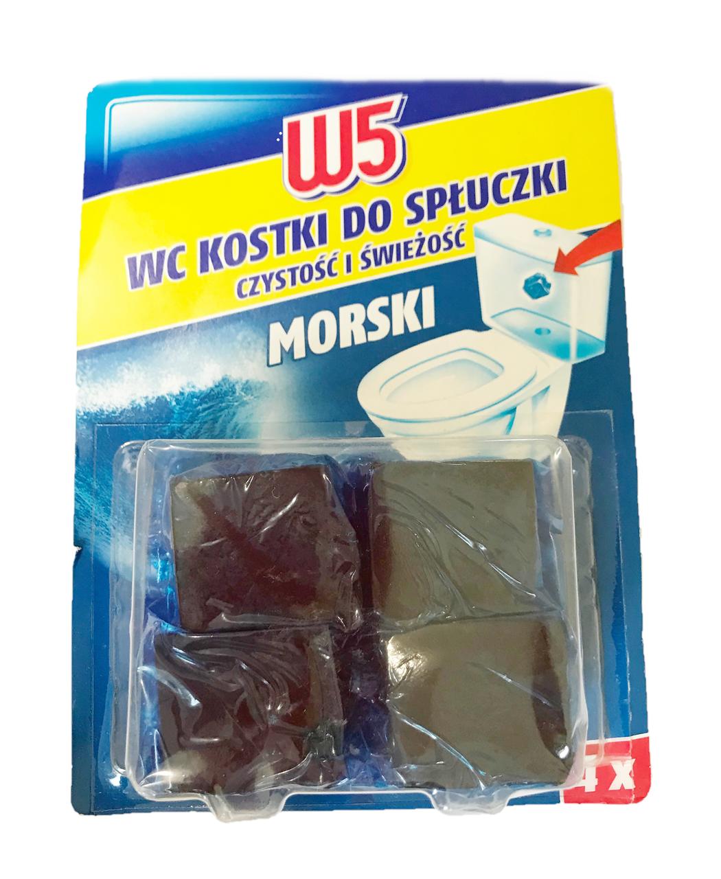 Таблетка для зливного бачка W5 Morski 200g (4х50 g)