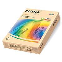 Цветная бумага А4 160 г/м2 CR20 кремовый