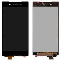 Дисплей (экран) для Sony E6653 Xperia Z5 с сенсором (тачскрином) черный Оригинал, фото 2