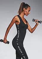 Спортивный женский топ BasBlack Emotion-top 50 (original), майка для бега, фитнеса, спортзала, фото 1