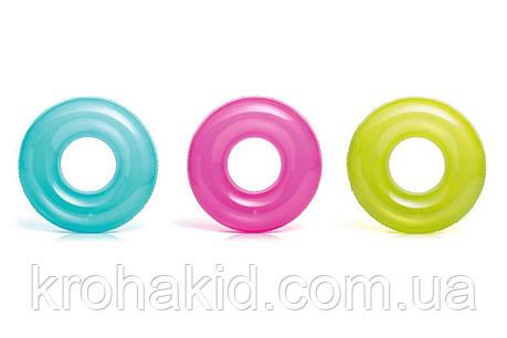 Круг Intex  59260 NP  однотонный, 3 цвета, диаметром 76см, от 8 лет, фото 2