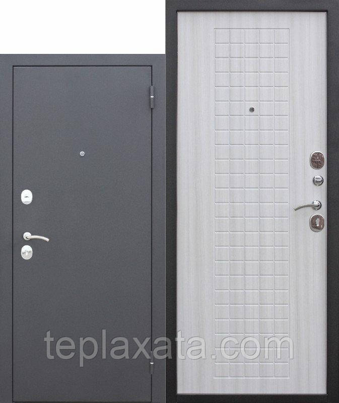 Двері вхідні металеві GARDA 60 мм, муар