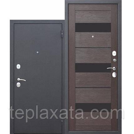 Дверь входная металлическая GARDA 60 мм, муар царга