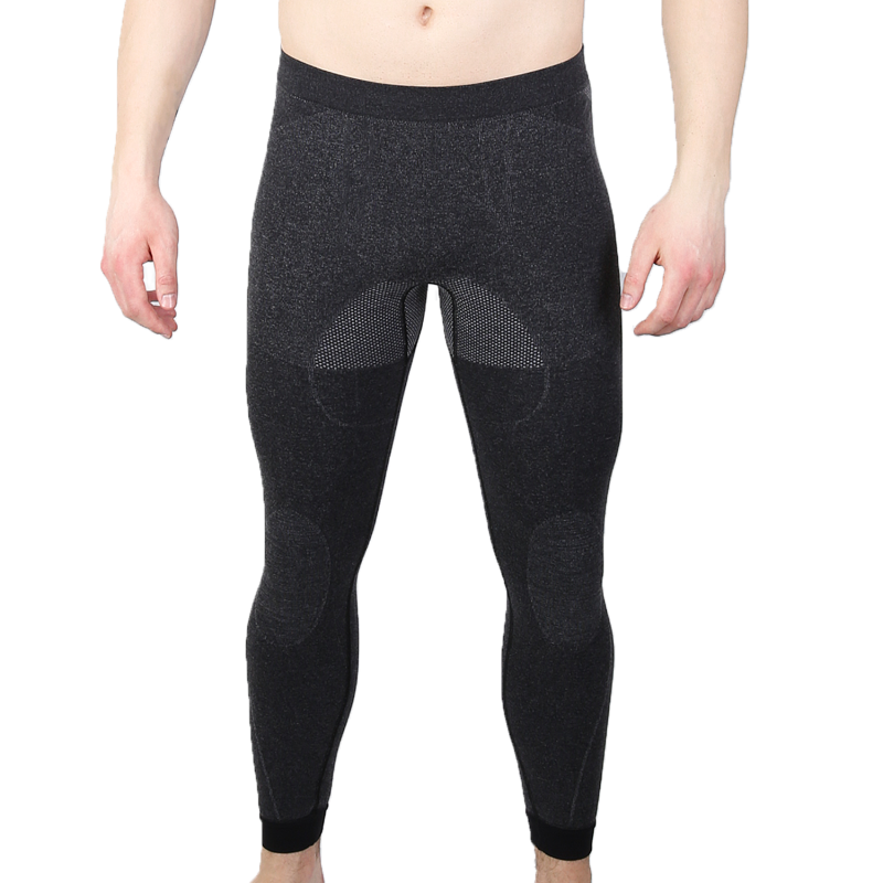 Мужские термоштаны с шерстью альпаки HASTER ALPACA WOOL 45, зональные бесшовные шерстяные подштанники кальсоны