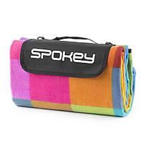 Коврик для пикника и пляжа водонепроницаемый Spokey Colour (original) 130х150 см, складывающееся покрывало, фото 1