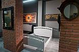 Кровать двуспальная из массива дуба, 1800 мм, фото 4