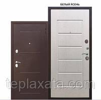 Двері вхідні металеві GARDA 75 мм, мідний антик