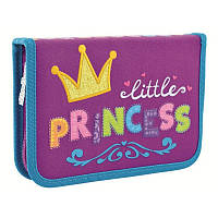 Пенал для школы твердый одинарный без клапана 1 Вересня HP-02 Little Princess (532143)