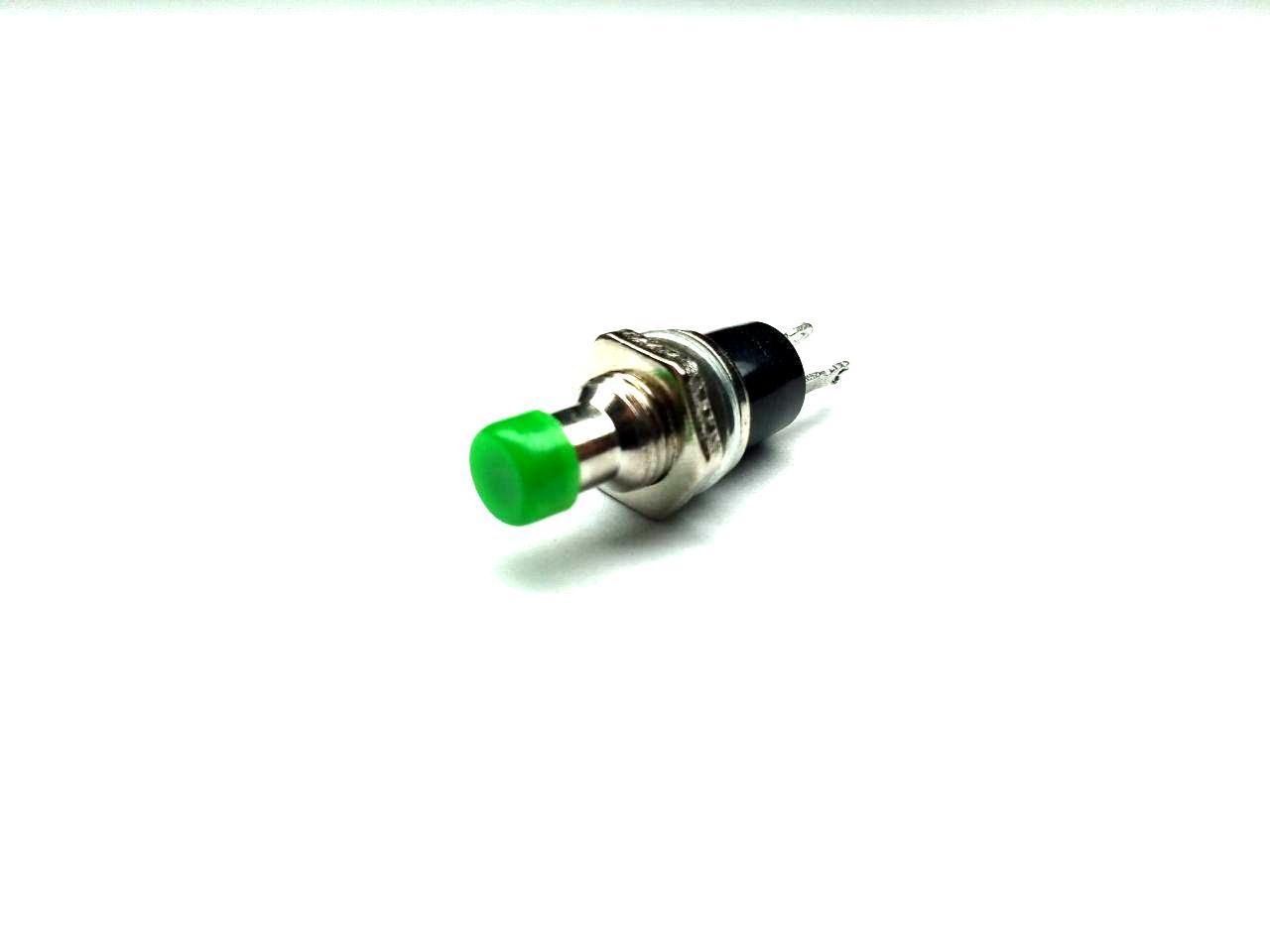 Концевой выключатель, круглая, PBS-10C-2 ON-(OFF), 2pin, 1А 250V, зеленая, small