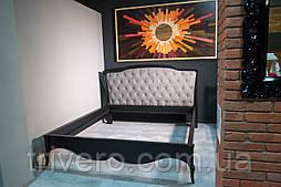 Кровать двуспальная низким изножьем, 1800*200