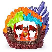Игровой набор Логово Дракона Как приручить дракона Кривоклыка Ужасное Чудовище, фото 1