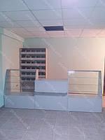 Торговые прилавки и стеллажи для магазина товаров для строительства, фото 1