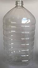 Пет пляшка 10 л Квадрат