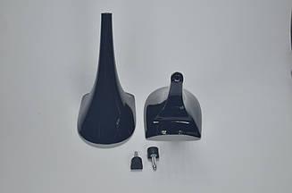 Каблук женский 9127 Kadir, 9.5 см, черный  лак