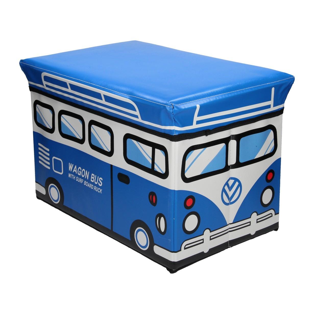 """Ящик-пуф для игрушек """"Автобус Minivan"""""""