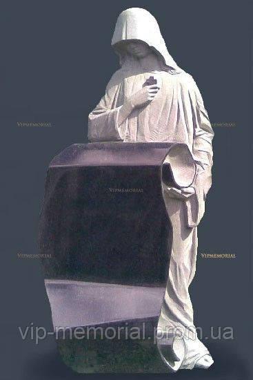 Мраморный памятник М-157