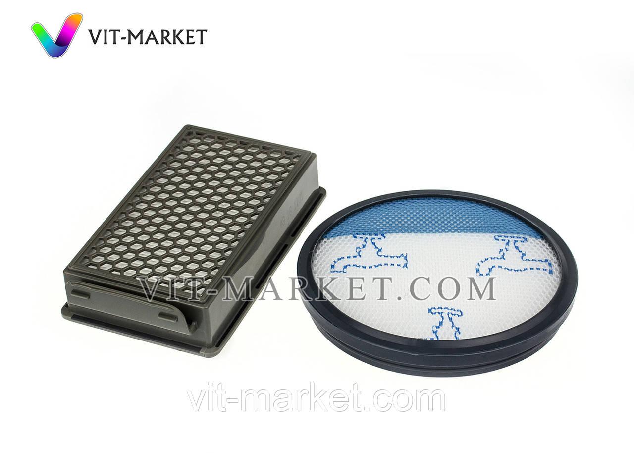Оригинал. Набор фильтр мотора HEPA и микро контера для пылесоса Rowenta, Tefal код ZR005901
