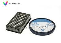 Оригинал. Набор фильтр мотора HEPA и микро контера для пылесоса Rowenta, Tefal код ZR005901, фото 1