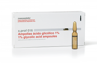 Для лечения угревой сыпи, растяжек и морщин на основе Гликолевой кислоты x.prof 016 / 1% glycolic acid ampoule