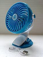 Настольный вентилятор с прищепкой USB mini fan ML- F168