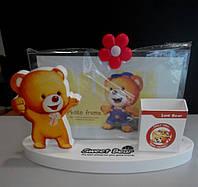 Фоторамка для малыша 10*15 Мишка, фото 1