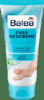 Balea Fuss Deocreme освежающий крем для ног для снятия усталости с пантенолом и алое 100 мл