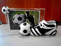 Фоторамка 10*15 Футбол с подставкой для ручек , фото 1