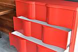Дизайнерский красный комод, фото 2