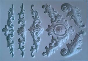 Текстурні килимки, форми для запресовування полімерних мас