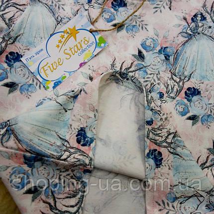 Детская футболка королева льда Five Stars KD0204-116p, фото 2