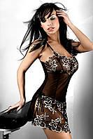 Эротическая полупрозрачная комбинация Hera, женское эротическое нижнее белье Livia Corsetti