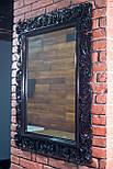Зеркало настенное в  резной черной раме , Z-18106, фото 2