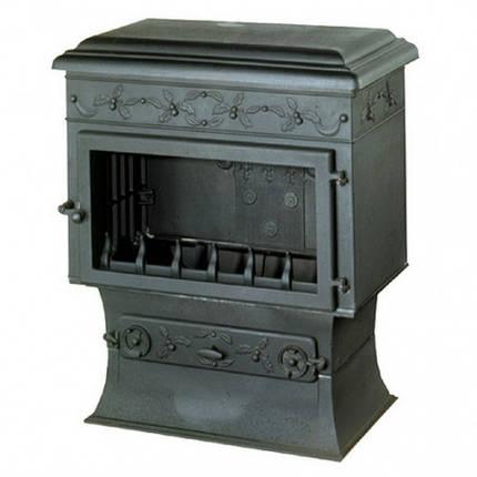 Печь камин чугунная INVICTA Chaumont антрацит, фото 2