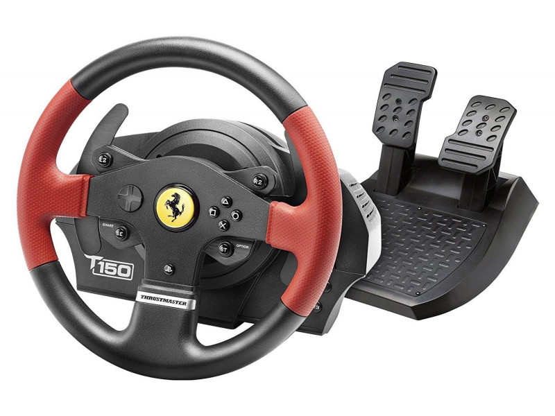 THRUSTMASTER T150FFB FERRARI EDITION Wheel with Pedals (4160630)