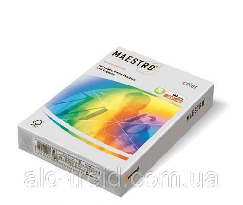 Цветная бумага А4 160 г/м2 GR21 серый