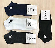 Носки спортивные летние сетка хлопок Adidas Турция размер 36-40 ассорти