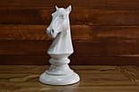 Великі шахові фігури скульптури з дерева, фото 7