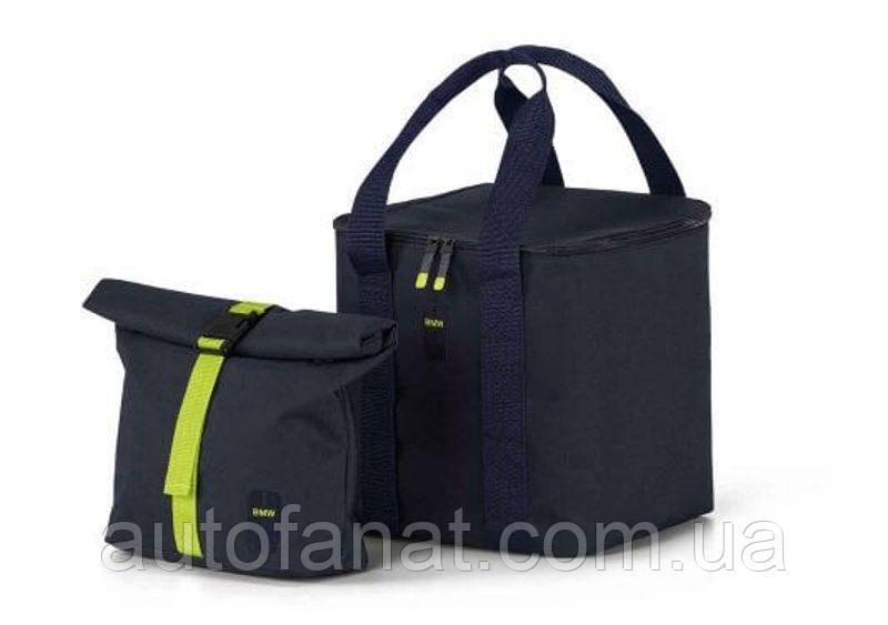 Оригинальный набор термосумок BMW Active Cool Bag Set, Blue Nights / Wild Lime (80222461023)