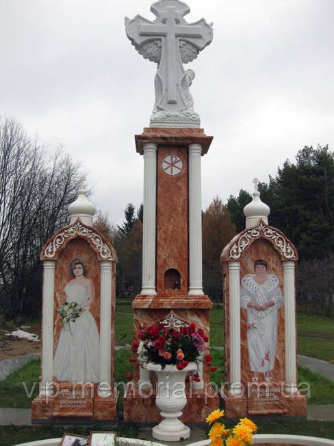 Мраморный памятник М-201