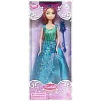 Кукла типа барби Принцесса Дисней в красивом голубом платье, BLD044