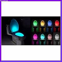 Подсветка для унитаза туалета с датчиком движения и света