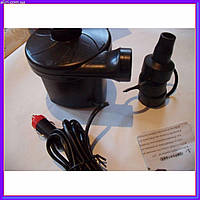 Компрессор Air Pomp 12v для надувных матрасов от прикуривателя и от сети, фото 1